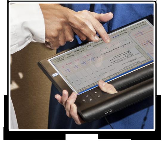 טאבלט מוקשח motion computing F5 מסך מגע