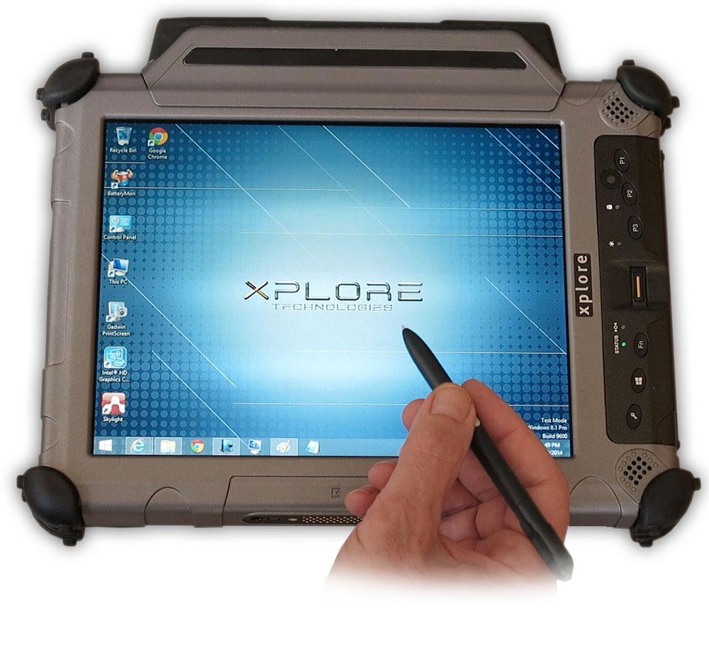 טאבלט מוקשח Xplore XC6 עט סטילוס