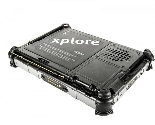 טאבלט מוקשח XPLORE XC6 מבט אחורי